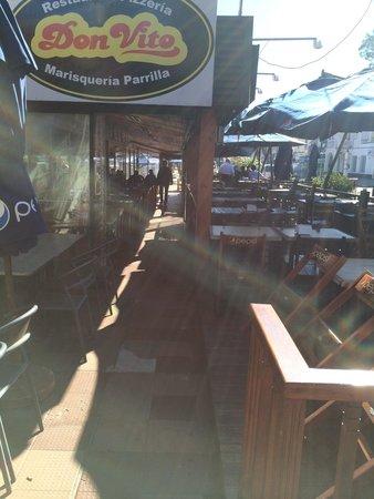 Restaurante Don Vito: restaurante dos nativod