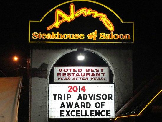 Alamo Steakhouse & Saloon: Alamo, Gatlinburg, Tn.