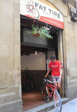 Fat Tire Bike Tours Barcelona: Fat Tire Barcelona