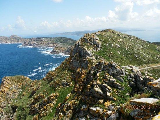 Playa de Rodas: la parte atlantica