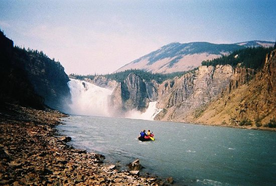 Northwest Territories, Canada: Nahanni Park At Virginia Falls