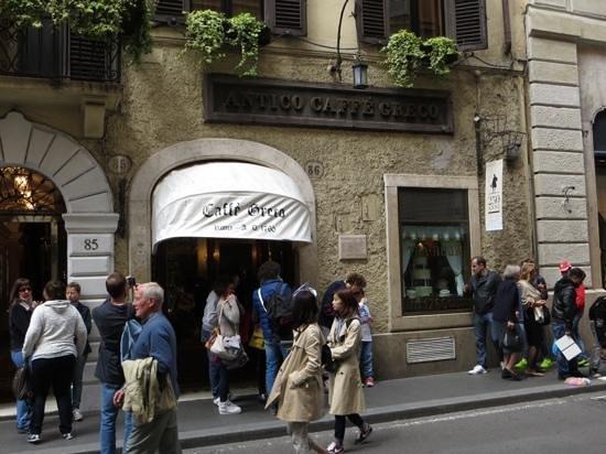 Caffe Greco: Exterior