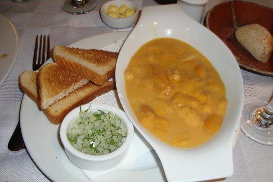 Restaurant Casavaldes: Ouriço, delícia!