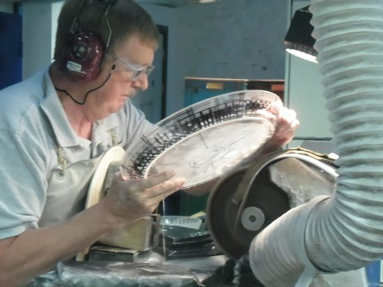 Waterford Crystal: Each Piece is Carefully Inspected