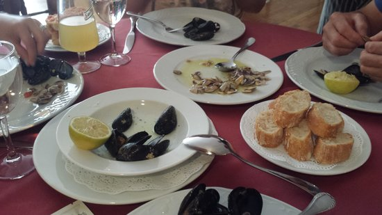 Restaurant Koxkera: Los primeros platos