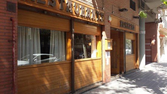 Restaurant Koxkera: La fachada del restaurante