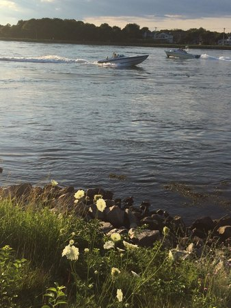 Cape Cod Canal: Boats at the canal.