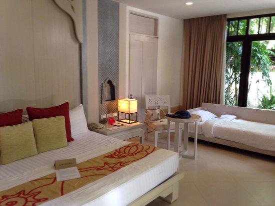 Melati Beach Resort & Spa : Camera