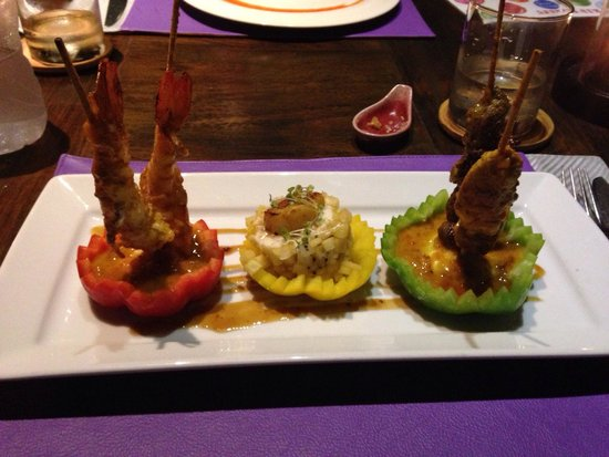 Melati Beach Resort & Spa : Cena thai 1/4