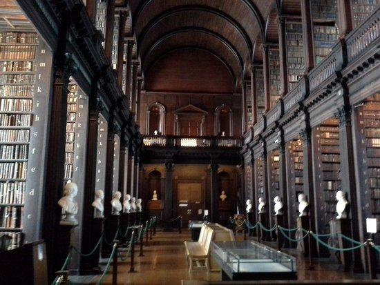 The Book of Kells and the Old Library Exhibition: Eye Popping Hall of Books