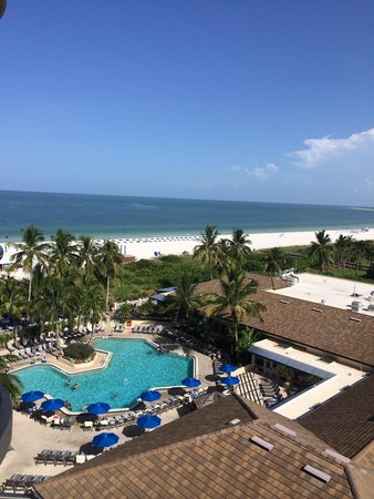 Hilton Marco Island Beach Resort : View from 8th floor!  Loved it!