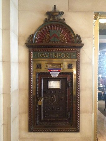 The Historic Davenport, Autograph Collection: The old-style mail box