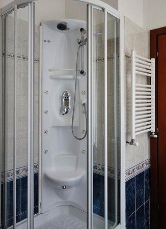 Hotel Raffaello : shower