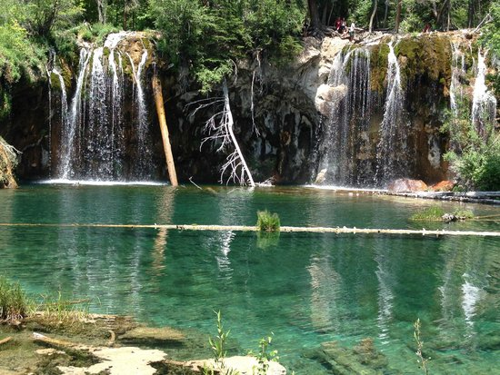 Hanging Lake Trail : Yes, this is in Colorado.