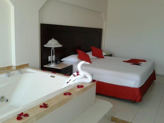 Crown Paradise Club Cancun: La chambre