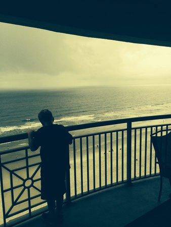 Mar Vista Grande: View from balcony room 1411