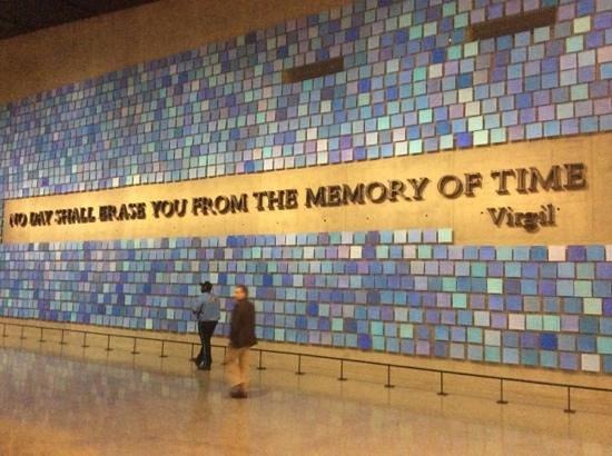 Mémorial du 11-Septembre : A Life-Changing Few Hours!!