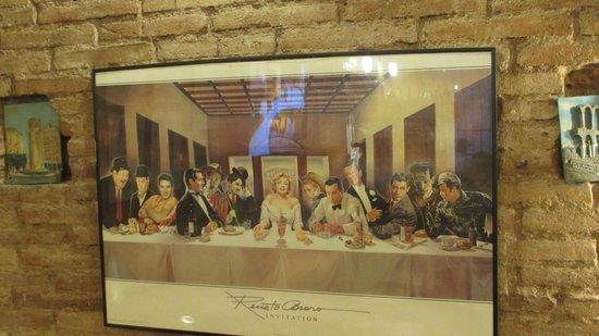 Restaurante pasta y vino: Decor