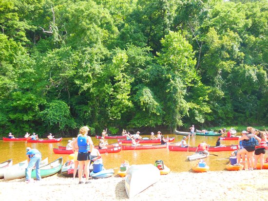 Ozark National Scenic Riverways: Congested?