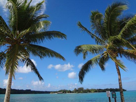 Warwick Le Lagon Resort & Spa, Vanuatu : beach