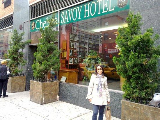 Chelsea Savoy Hotel : Entrada do Hotel Chelsea Savoy