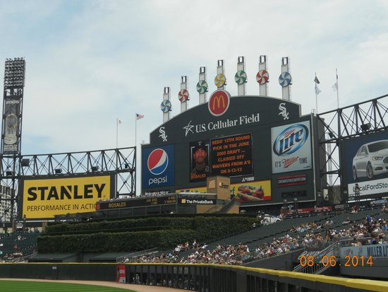 Guaranteed Rate Field: Scoreboard