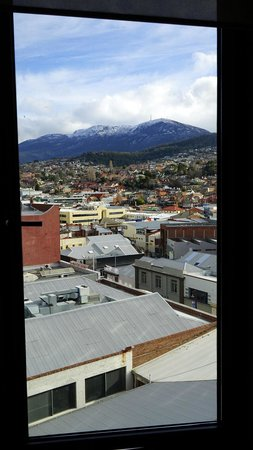 RACV/RACT Hobart Apartment Hotel : View from 7th floor room