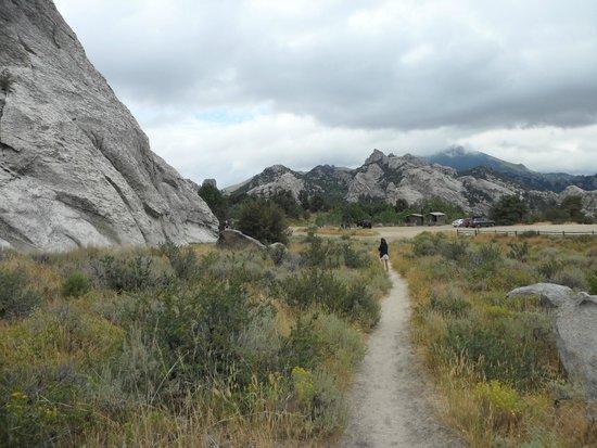 City Of Rocks National Reserve : Around the Bathtub