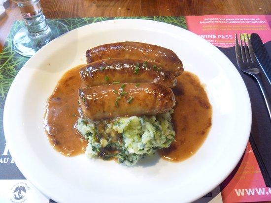 Manneken Cafe: ソーセージ