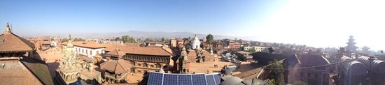 Shiva Guest House1 & 2: view from roof