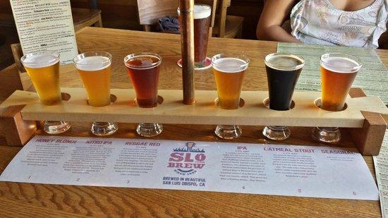 Slo Brew Company: Flight