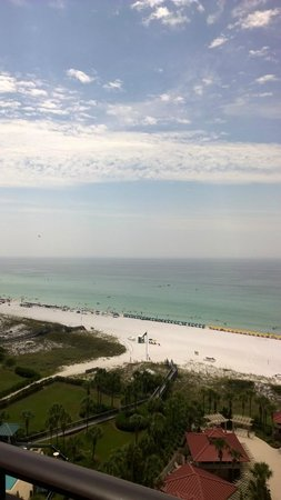Sandestin Golf and Beach Resort : Late morning view from balcony