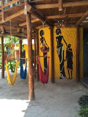 Tribu Hostel: Hammack area