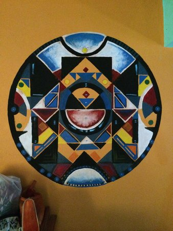 Tribu Hostel: Painting in my Dorm
