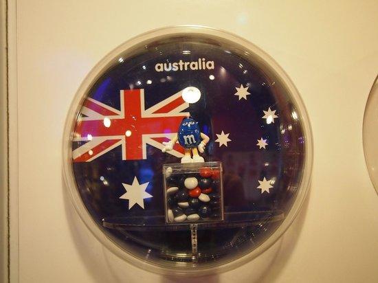 M&M'S World New York : Australian m&ms
