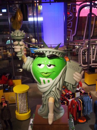M&M'S World New York : Lady Liberty