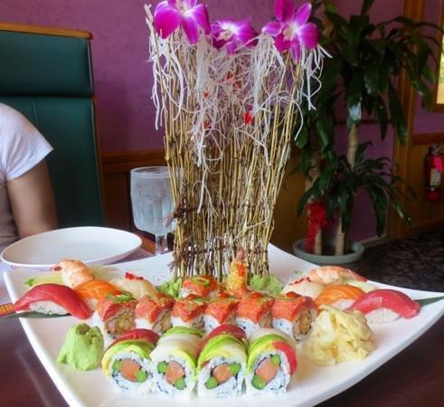 Ginger Garden : Now that's a sushi platter!