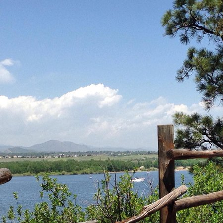 Chatfield State Park : Nice views of the foothills.