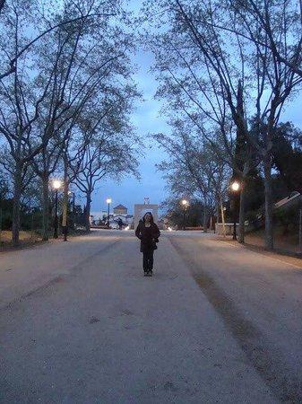Plaza de España (Plaça d'Espanya): Una tranquilidad q se vive