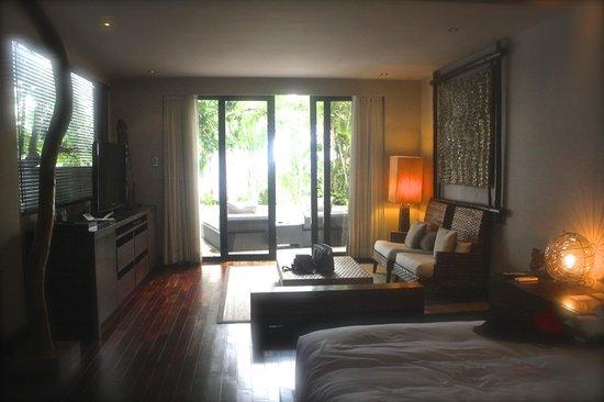 Abaca Boutique Resort : Large, modern, Oceanfront Spa Villa