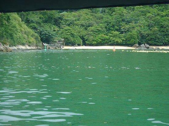 Pousada Vistamar: Uma das belas praias..