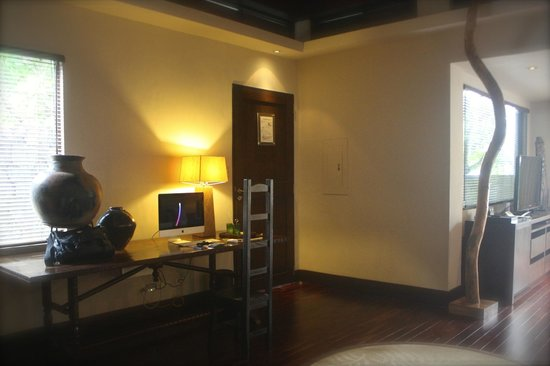 Abaca Boutique Resort : In room iMac