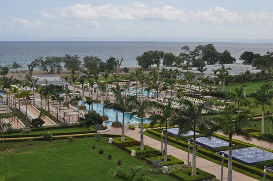 Hotel Riu Palace Costa Rica: View from 4th Floor
