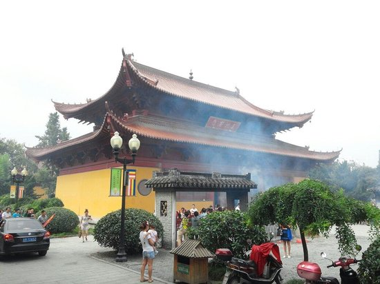 Taizhou, China: In the temple.