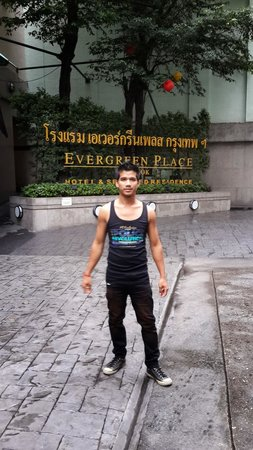 Evergreen Place Bangkok: Great hotel