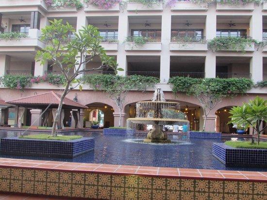 Casa del Rio Melaka : Courtyard