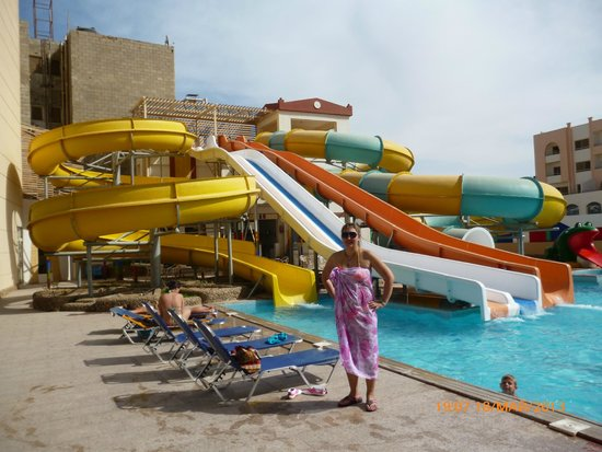 King Tut Aqua Park Beach Resort: Аквапарк