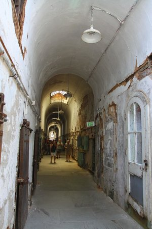 Eastern State Penitentiary : Cell Block