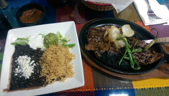 Sabroso! Mexican Grill: Carne Asada Plate