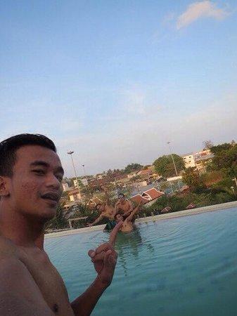 D Varee Diva Avenue Samui: Rooftop pool!